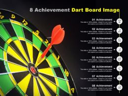 8 Achievement Dart Board Image