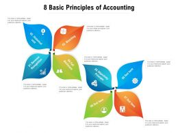 8 Basic Principles Of Accounting