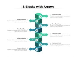 8 Blocks With Arrows