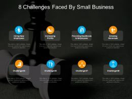 8 Challenges Faced By Small Business