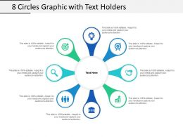 8 Circles Graphic With Text Holders