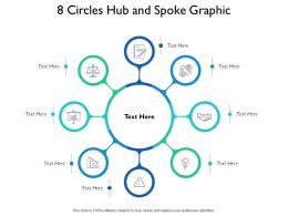 8 Circles Hub And Spoke Graphic