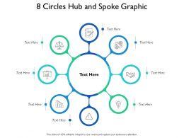 8 Circles Hub And Spoke Graphic