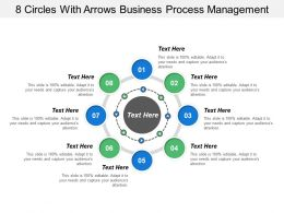 8 Circles With Arrows Business Process Management
