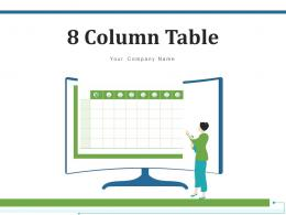 8 Column Table Analytics Software Financial Operational Performance Comparison