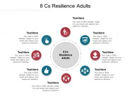 8 Cs Resilience Adults Ppt Powerpoint Presentation Infographics Deck Cpb