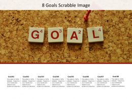 8 Goals Scrabble Image
