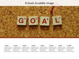 8 Goals Scrabble Image