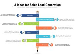 8 Ideas For Sales Lead Generation