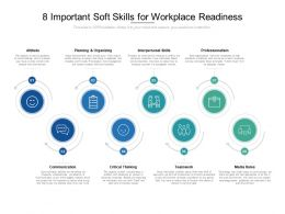 8 Important Soft Skills For Workplace Readiness