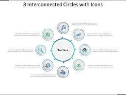 8 Interconnected Circles With Icons