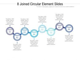 8 Joined Circular Element Slides