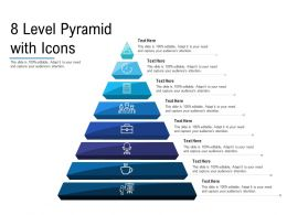 8 Level Pyramid With Icons