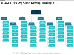 8 Levels Hr Org Chart Staffing Training And Compensation Analysis
