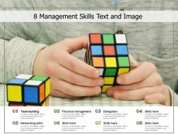 8 Management Skills Text And Image