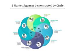 8 Market Segment Demonstrated By Circle