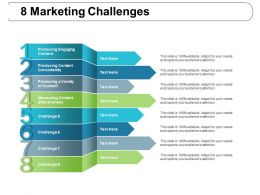 8 Marketing Challenges