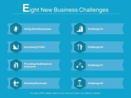 8 New Business Challenges
