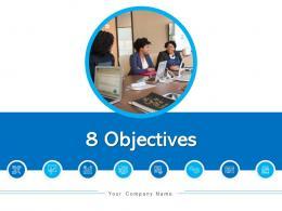 8 Objectives Current Workforce Human Resource Sales Volume