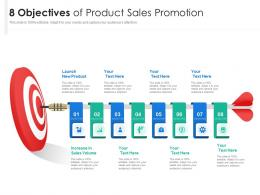 8 Objectives Of Product Sales Promotion