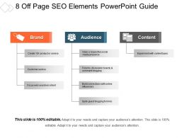8 Off Page Seo Elements Powerpoint Guide