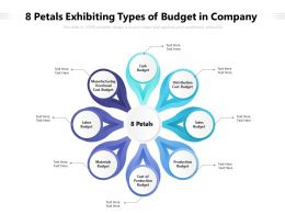 8 Petals Exhibiting Types Of Budget In Company