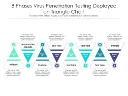 8 Phases Virus Penetration Testing Displayed On Triangle Chart