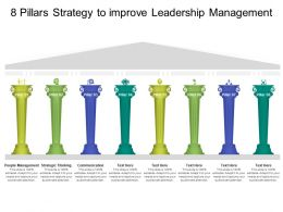 8 Pillars Strategy To Improve Leadership Management