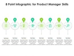 8 Point Infographic For Product Manager Skills Template