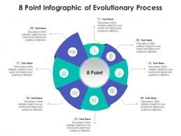 8 Point Infographic Of Evolutionary Process Template