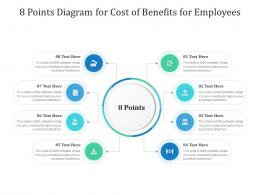 8 Points Diagram For Cost Of Benefits For Employees Infographic Template