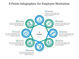 8 Points For Employee Motivation Infographic Template