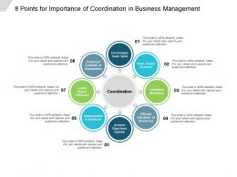 8 Points For Importance Of Coordination In Business Management