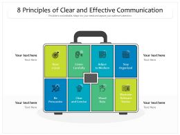 8 Principles Of Clear And Effective Communication