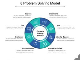 8 Problem Solving Model Powerpoint Slide Ideas
