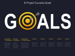 8 Project Success Goals