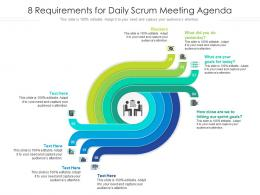 8 Requirements For Daily Scrum Meeting Agenda