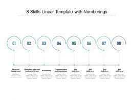 8 Skills Linear Template With Numberings