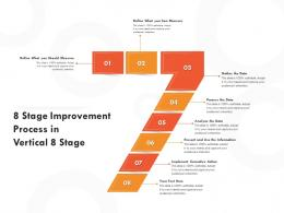 8 Stage Improvement Process In Vertical 8 Stage