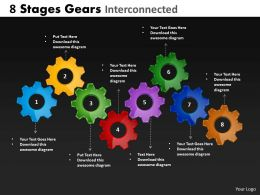8 stages gears