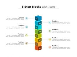 8 Step Blocks With Icons