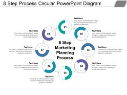 8 Step Process Circular Powerpoint Diagram