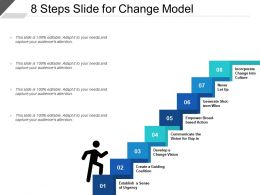 8 Steps Slide For Change Model
