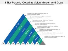 8 Tier Pyramid Covering Vision Mission And Goal