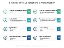 8 Tips For Effective Telephone Communication