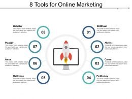 8 Tools For Online Marketing