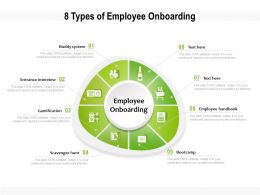 8 Types Of Employee Onboarding