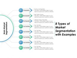 8 Types Of Market Segmentation With Examples
