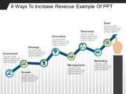 8 Ways To Increase Revenue Example Of Ppt