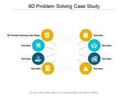 8d Problem Solving Case Study Ppt Powerpoint Presentation Gallery Outline Cpb